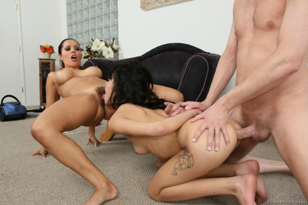 Francesca Le, Binky Bangs   The LeWood Anal Hazing Crew #03